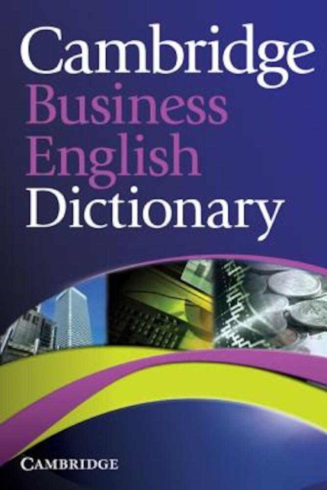 Cambridge Business English Dictionary, Paperback