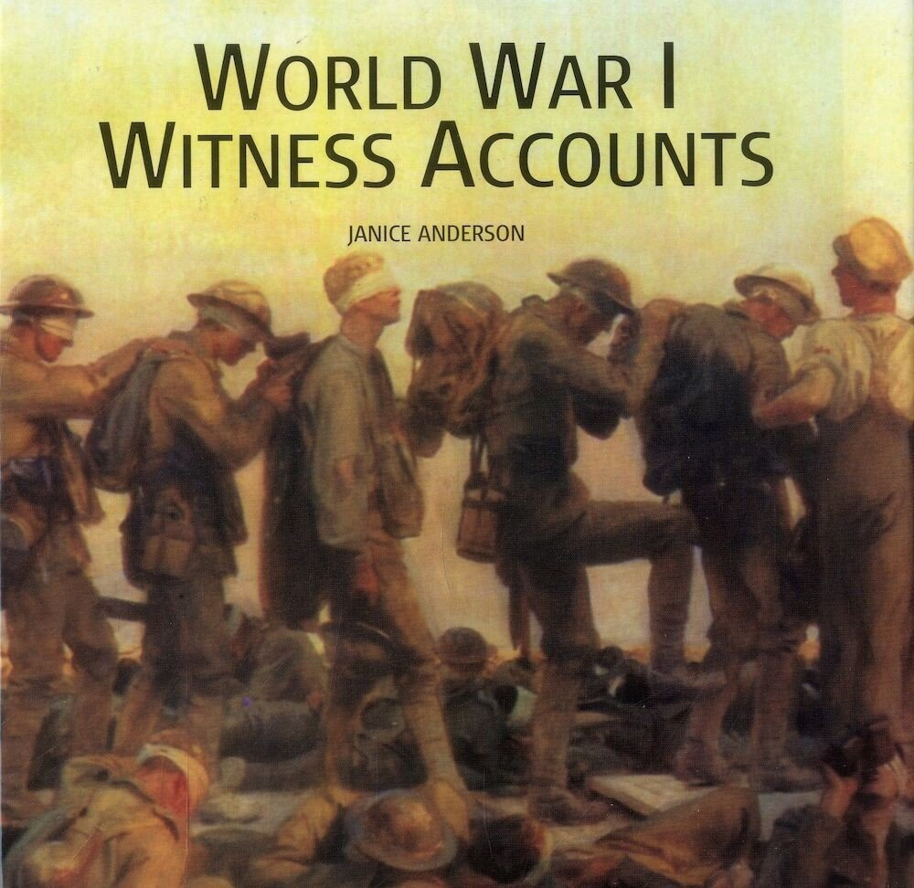 Coperta Carte World War I Witness Accounts