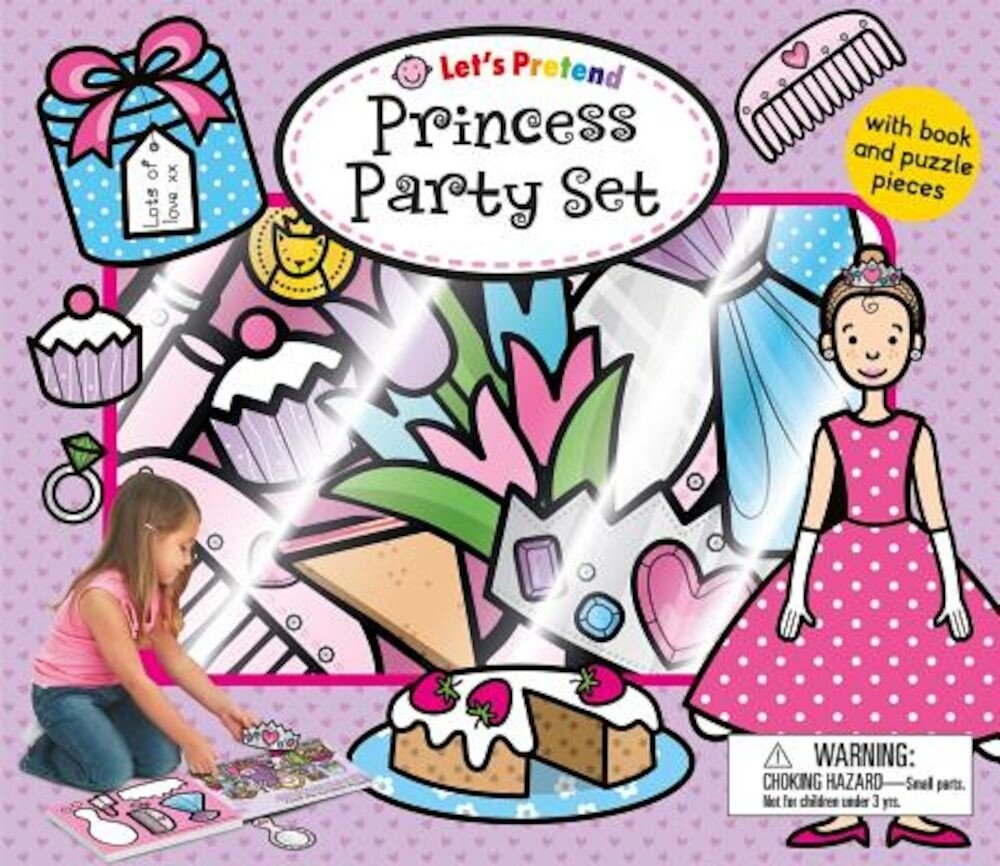 Princess Party Set [With 15 Play Pieces], Hardcover
