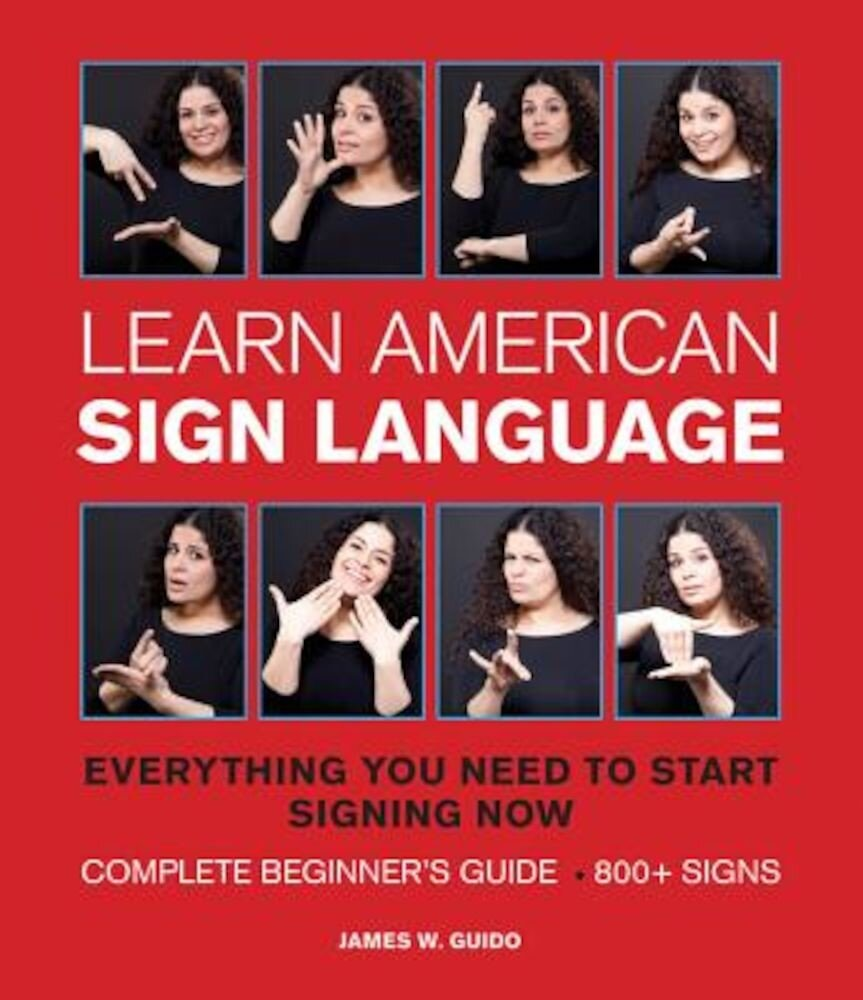 Learn American Sign Language, Paperback