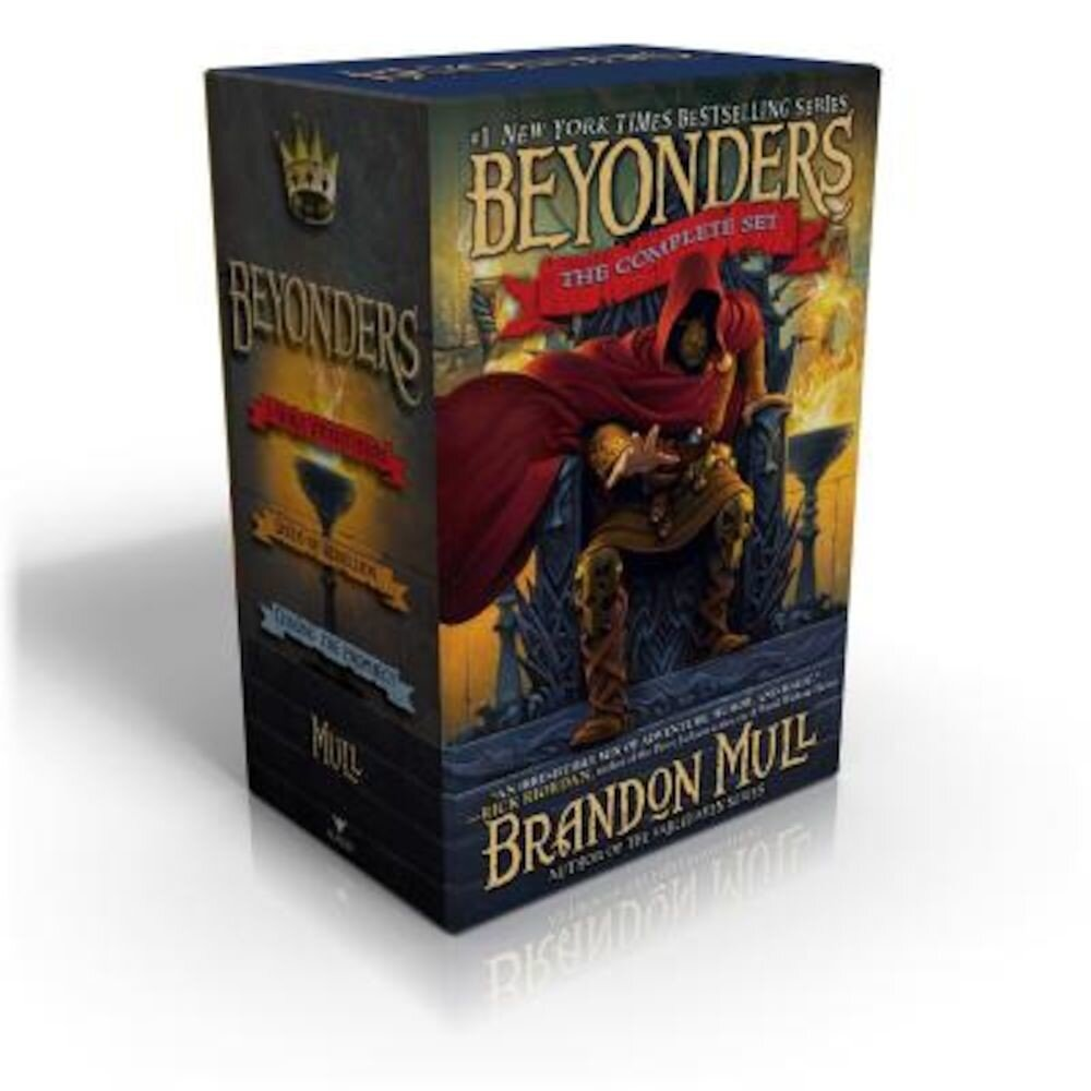 Beyonders: The Complete Set: A World Without Heroes; Seeds of Rebellion; Chasing the Prophecy, Paperback