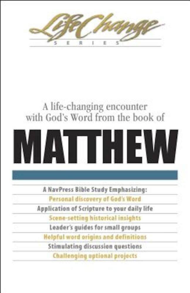 Matthew, Paperback