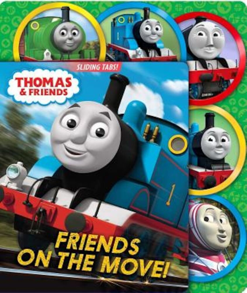 Thomas & Friends: Friends on the Move!, Hardcover