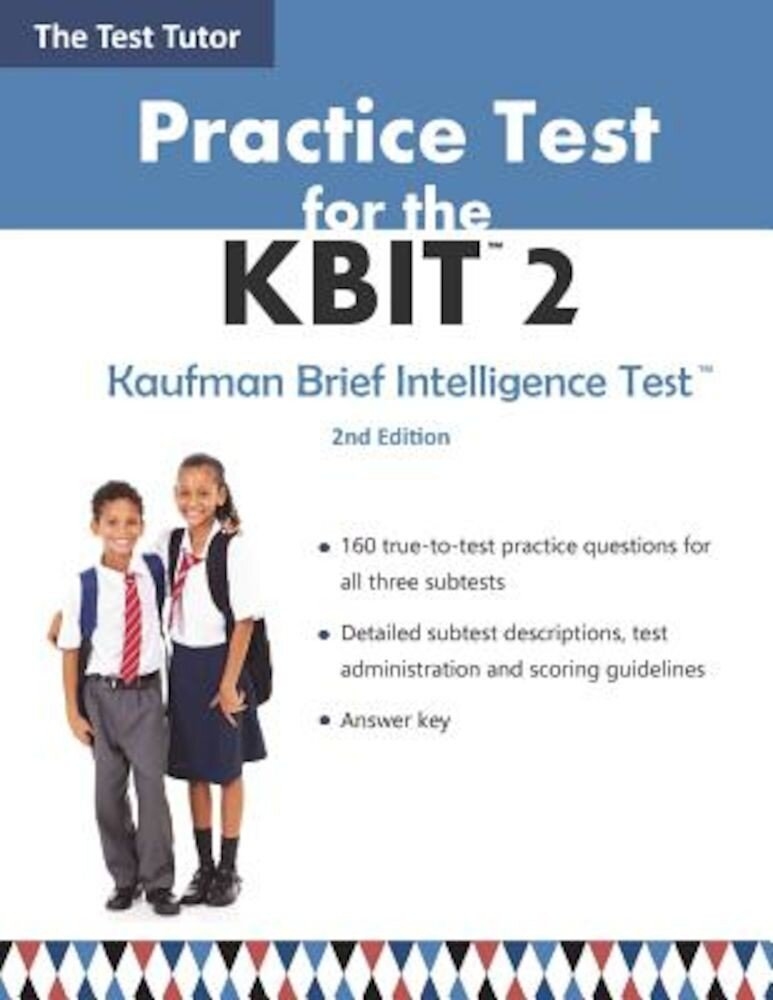 Practice Test for the Kbit 2, Paperback