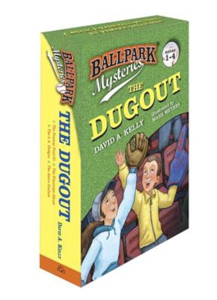 Ballpark Mysteries: The Dugout Boxed Set (Books 1-4), Paperback