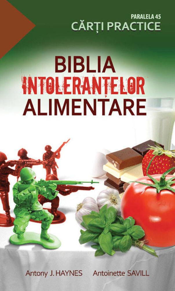 Coperta Carte Biblia intolerantelor alimentare