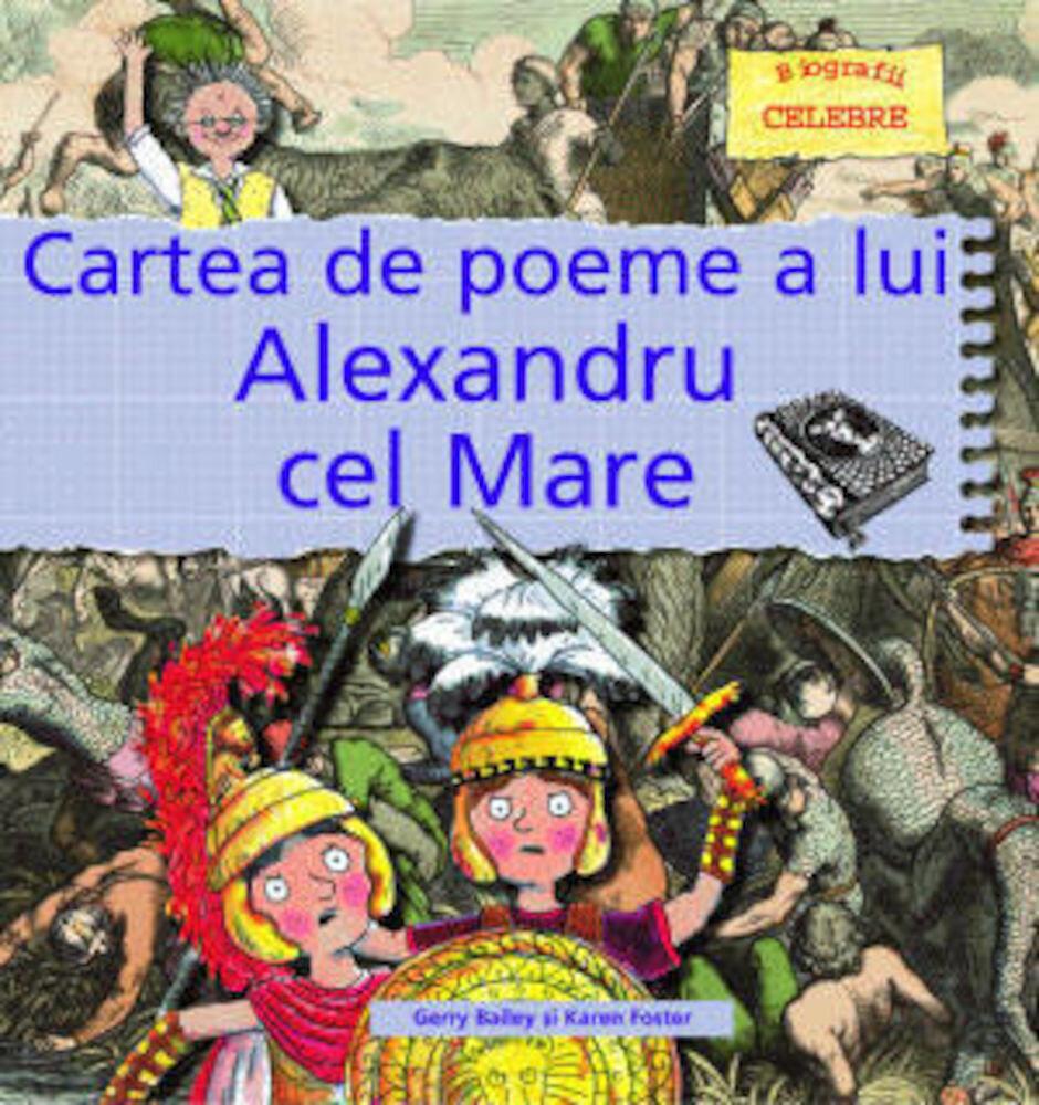 Coperta Carte Cartea de poeme a lui Alexandru cel Mare