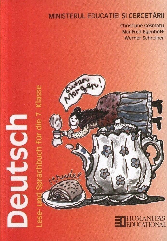 Limba si literatura germana. Manual pentru clasa a VII-a. Editia 2014