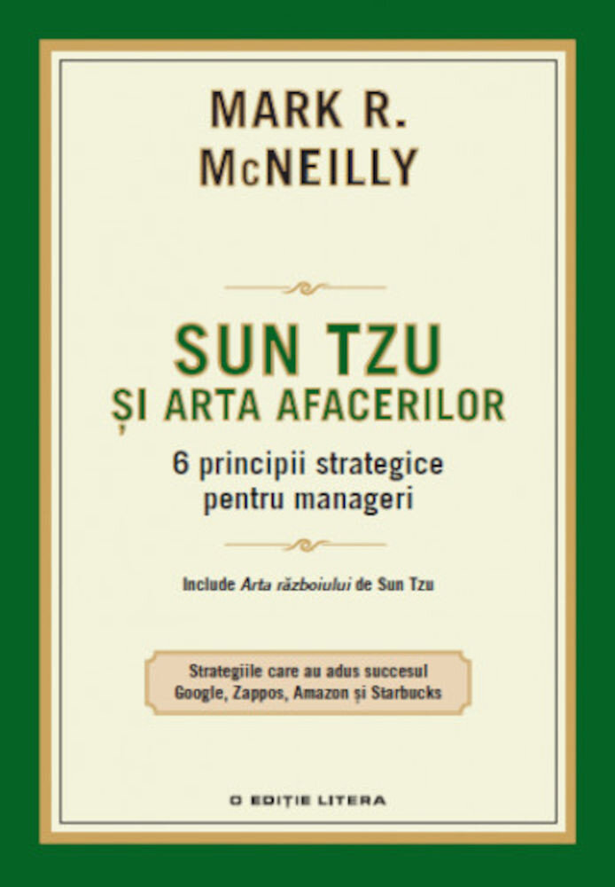 Coperta Carte Sun Tzu si arta afacerilor