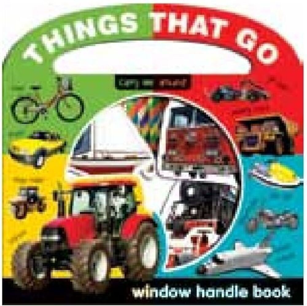 Window Handle Book - Things That Go