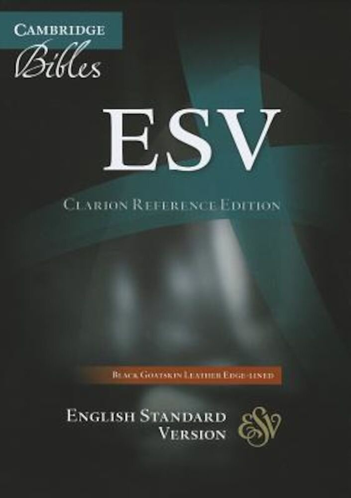 Clarion Reference Bible-ESV, Hardcover
