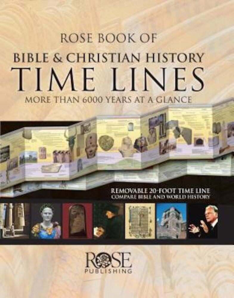 Rose Book of Bible & Christian History Time Lines: More Than 6000 Years at a Glance, Hardcover