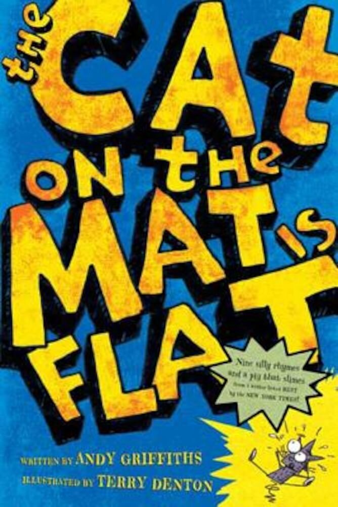 The Cat on the Mat is Flat, Paperback