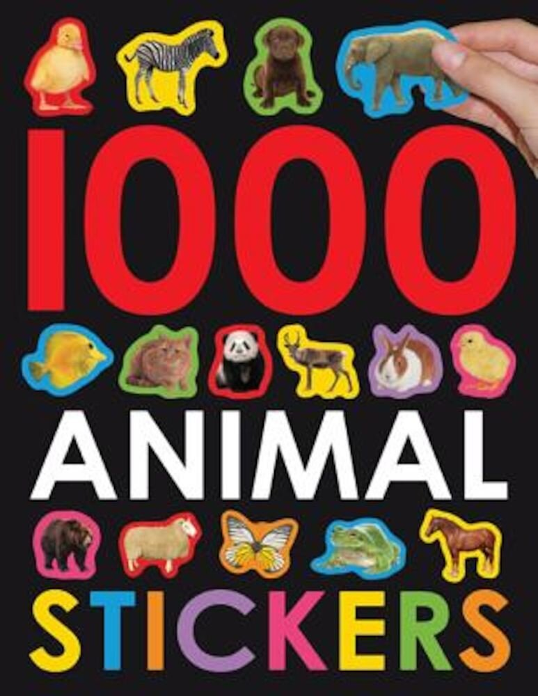 1000 Animal Stickers, Paperback