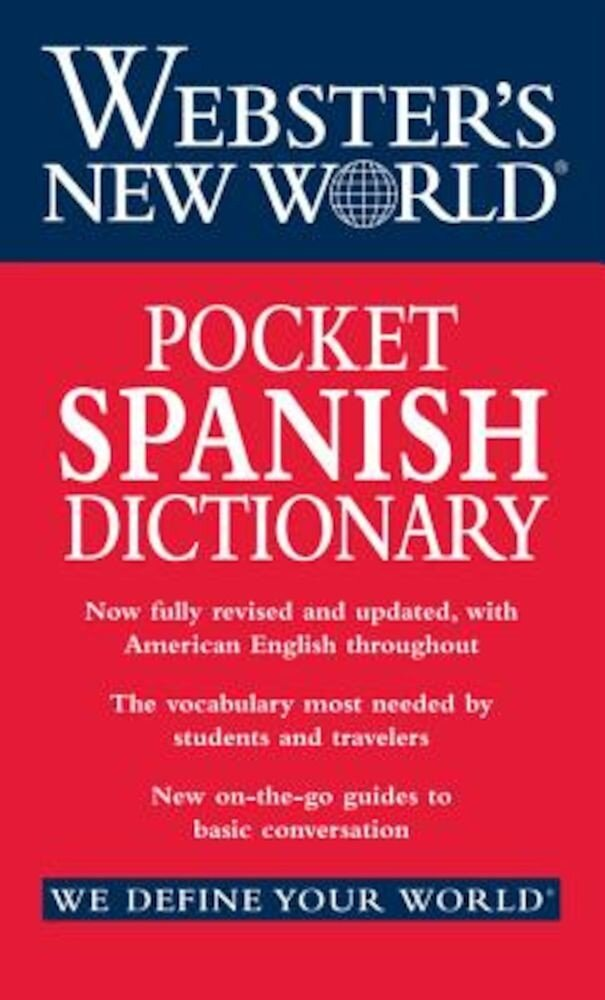 Webster's New World Pocket Spanish Dictionary, Paperback