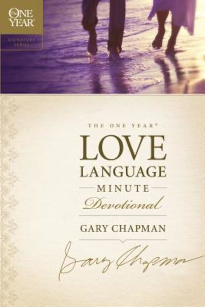 The One Year Love Language Minute Devotional, Paperback