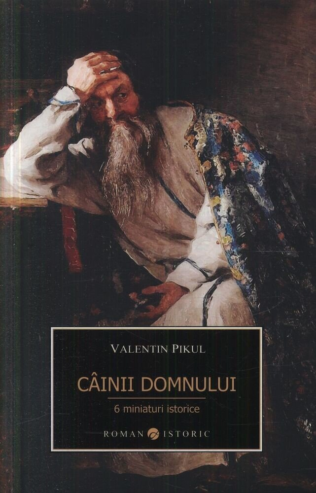 Coperta Carte Cainii domnului. 6 miniaturi istorice