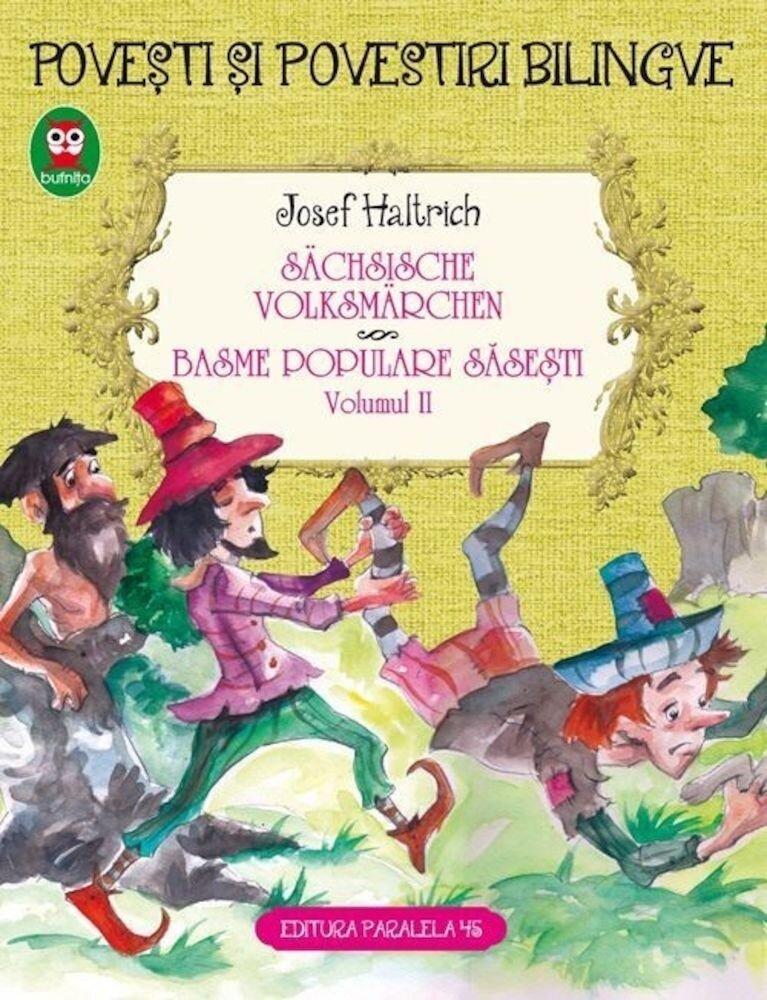 Coperta Carte Sachsische volksmarchen. Basme populare sasesti. Vol. II