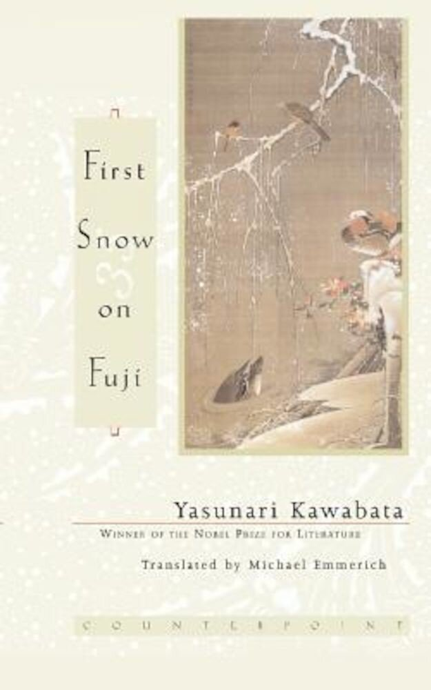 First Snow on Fuji, Paperback