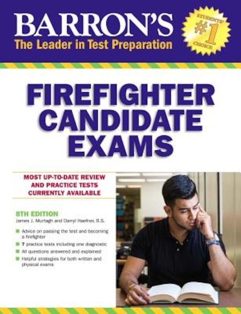 Barron's Firefighter Candidate Exams, 8th Edition, Paperback