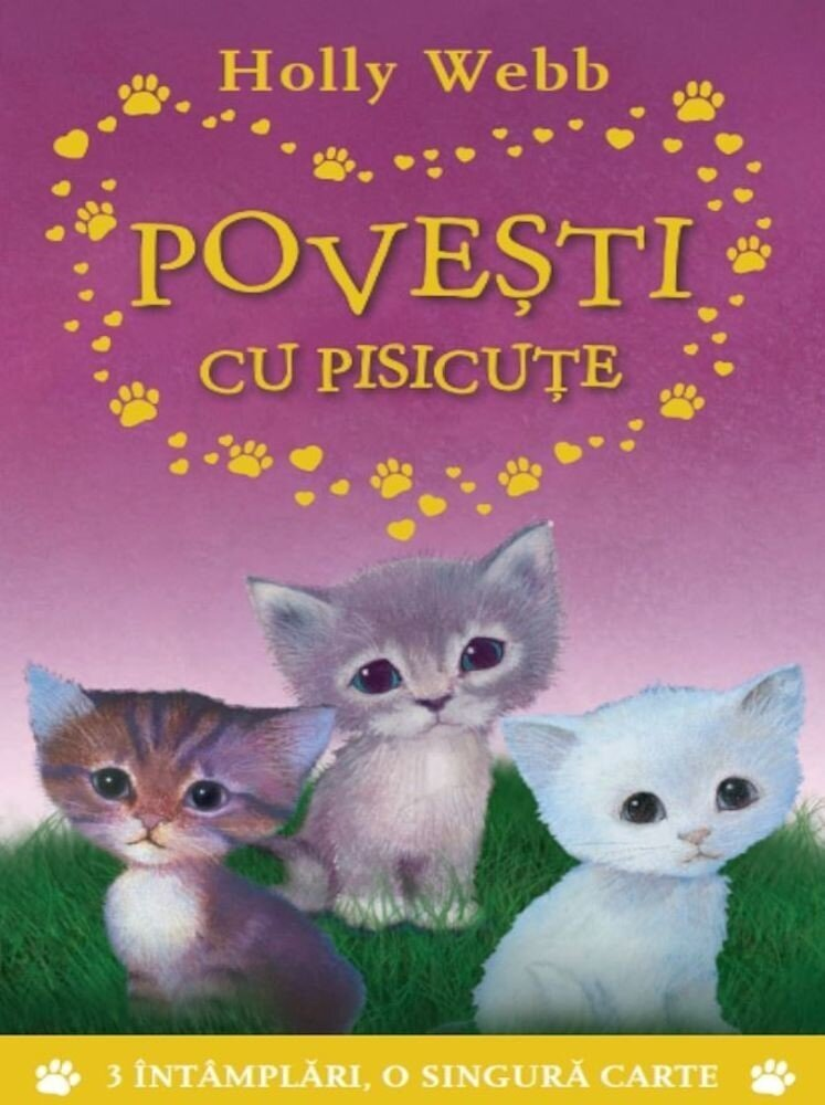 Coperta Carte Povesti cu pisicute.