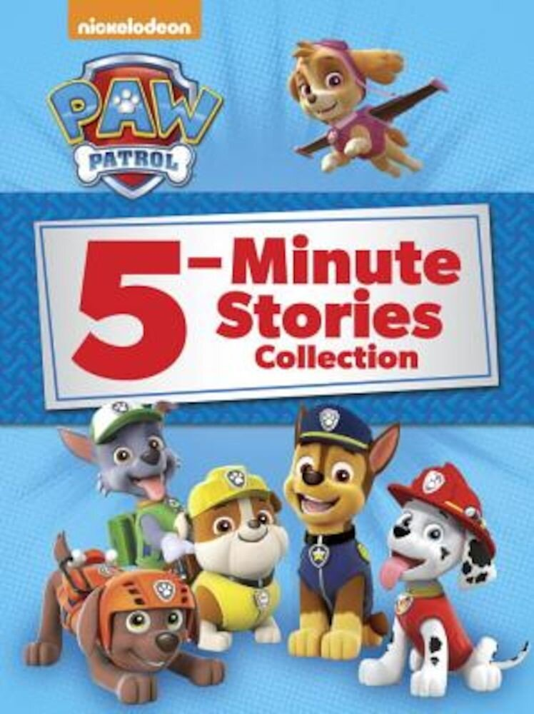 Paw Patrol 5-Minute Stories Collection (Paw Patrol), Hardcover