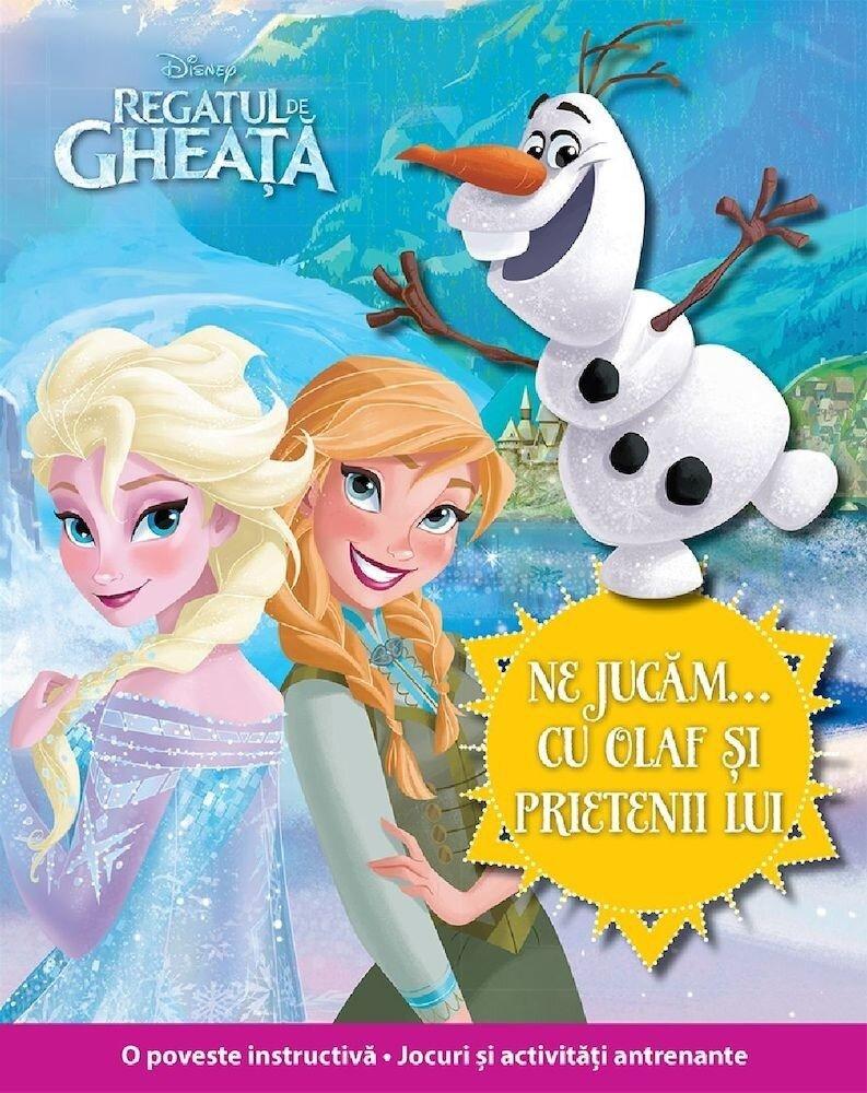 Disney. Regatul de gheata. Ne jucam cu Olaf si prietenii lui