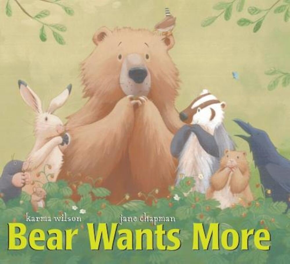 Bear Wants More, Hardcover