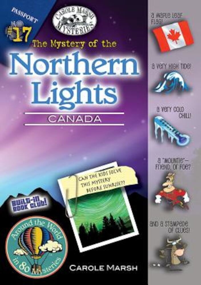 The Mystery of the Northern Lights (Canada), Paperback