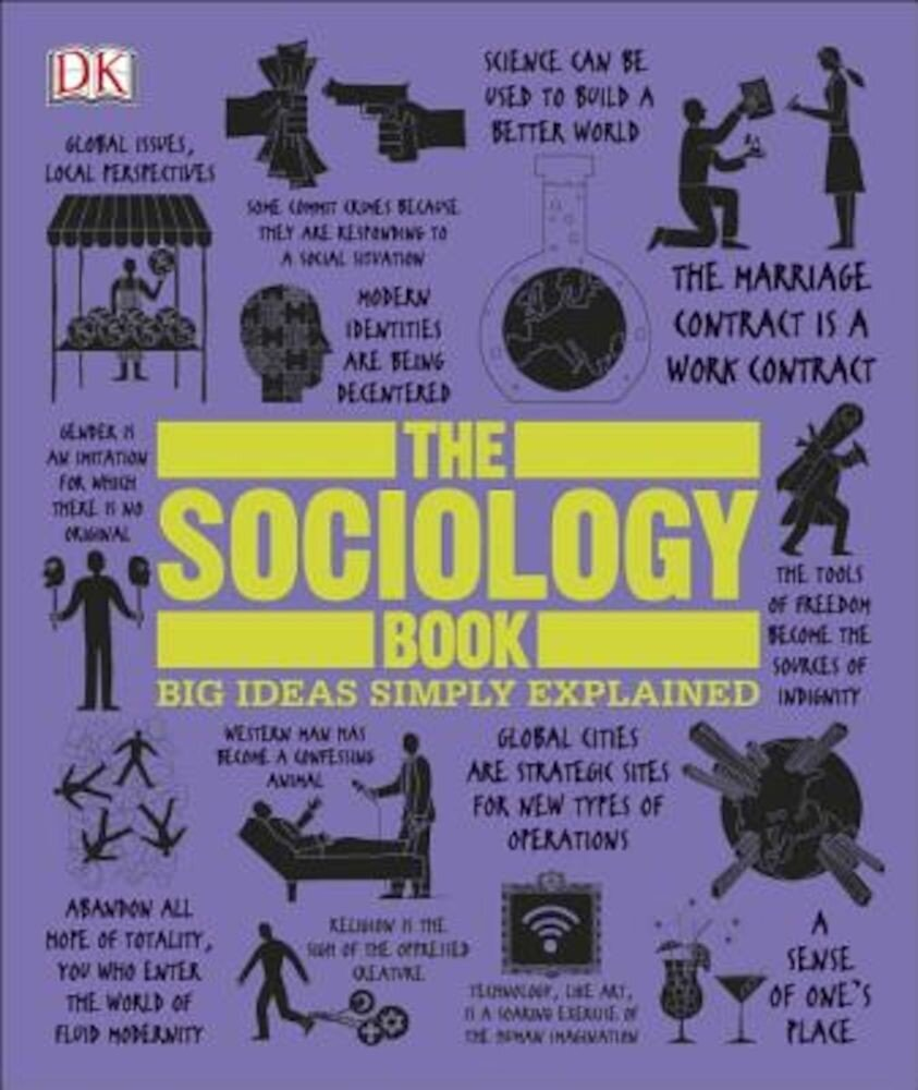 The Sociology Book, Hardcover