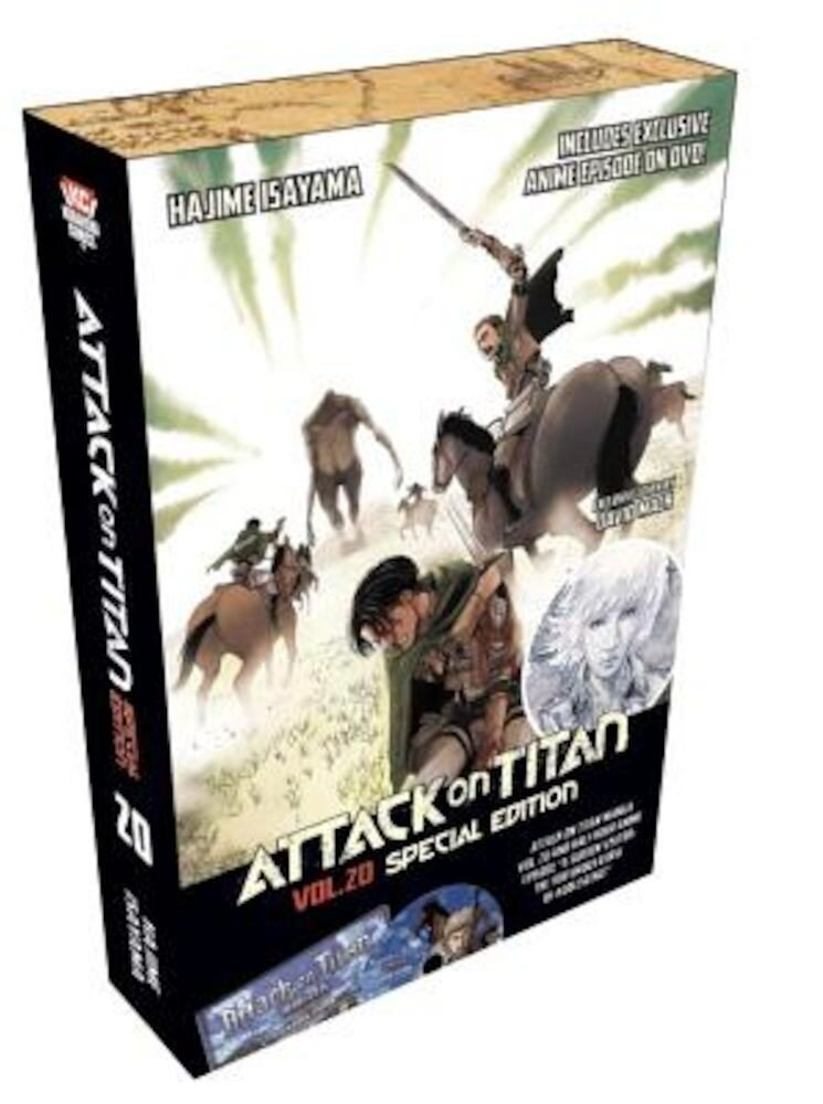 Attack on Titan, Volume 20 [With DVD], Paperback