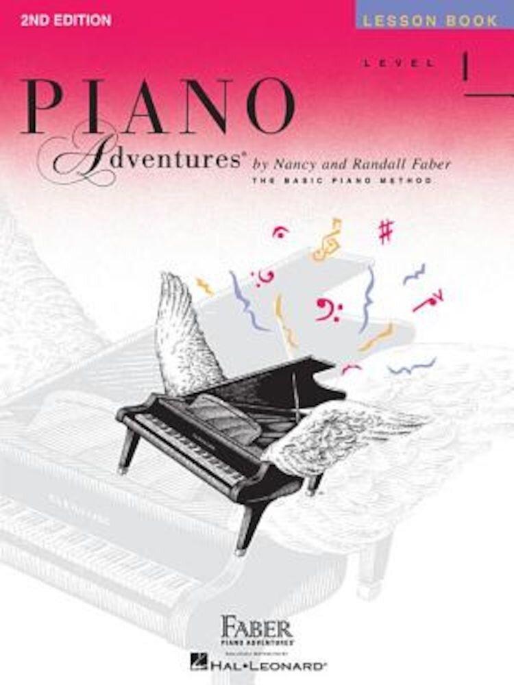 Piano Adventures, Level 1, Lesson Book, Paperback