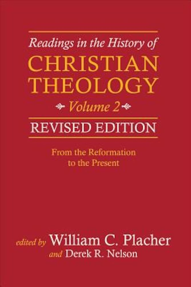 Readings in the History of Christian Theology, Volume 2, Paperback