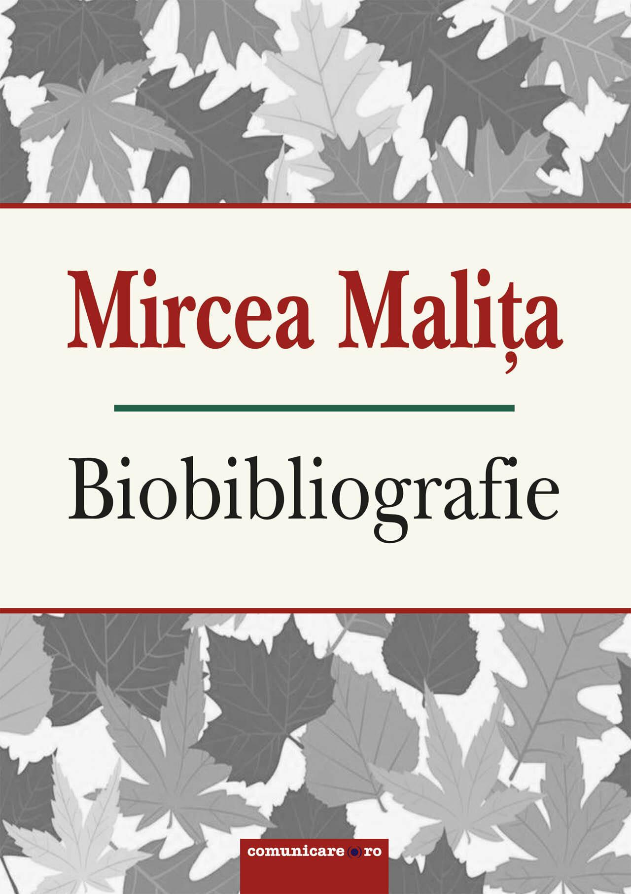 Mircea Malita - Biobibliografie (eBook)