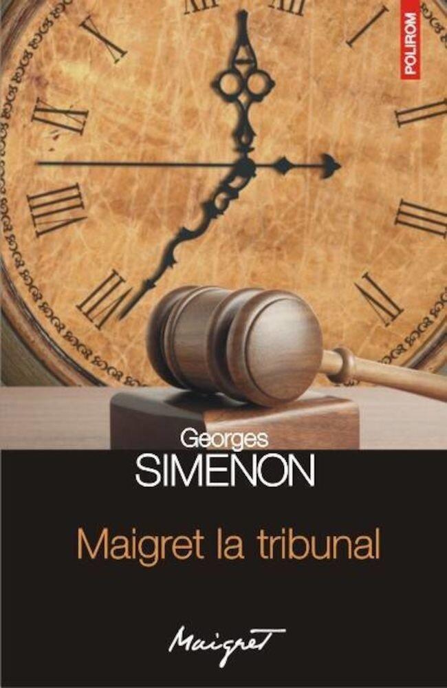 Coperta Carte Maigret la tribunal