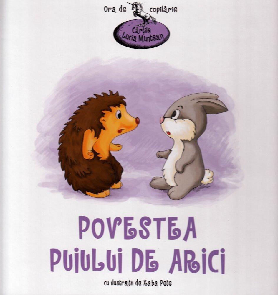 Coperta Carte Povestea puiului de arici
