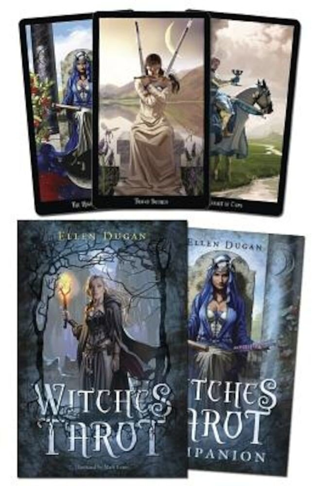 Witches Tarot [With Cards], Hardcover