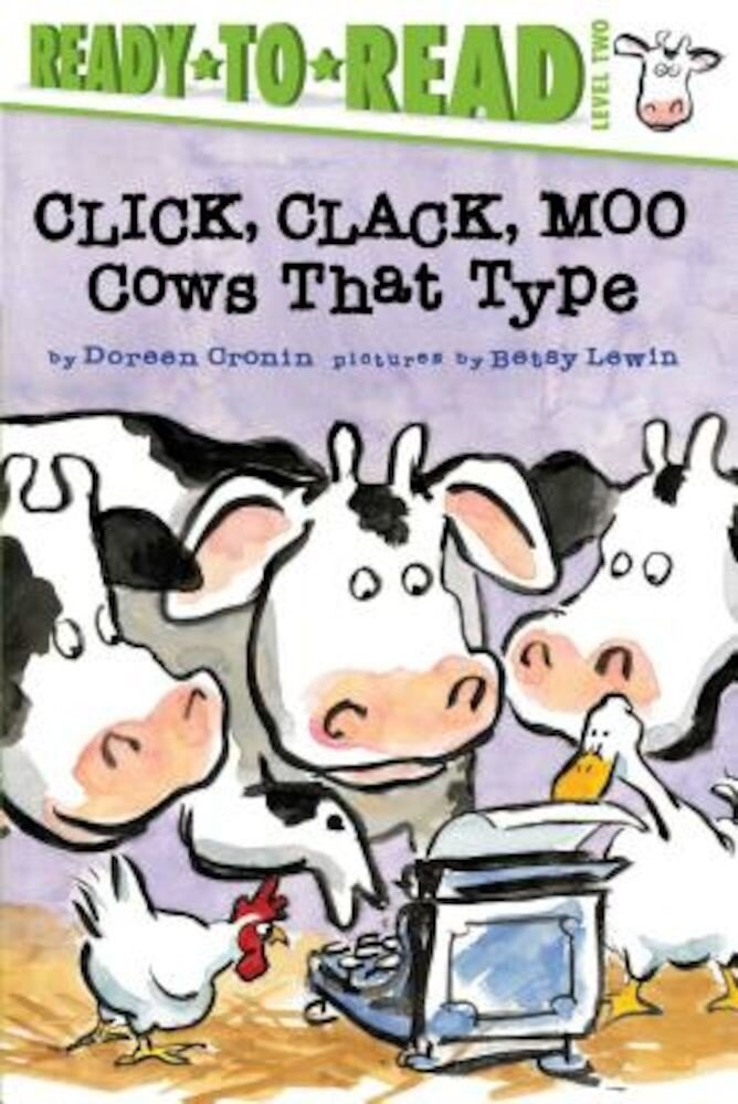 Click, Clack, Moo: Cows That Type, Paperback
