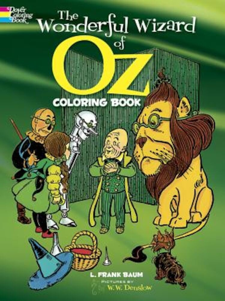 The Wonderful Wizard of Oz Coloring Book, Paperback