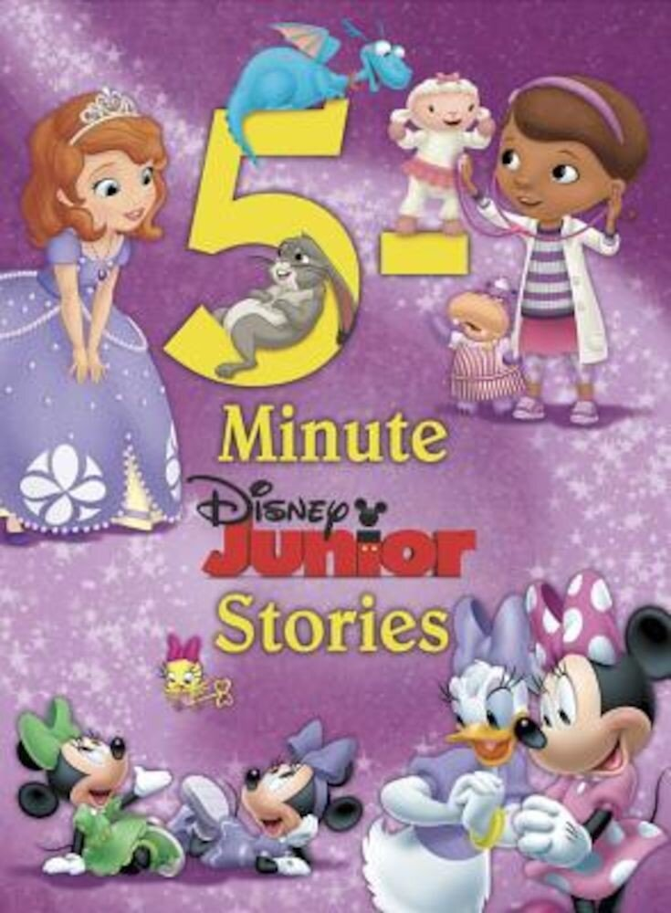 Disney Junior 5-Minute Disney Junior Stories, Hardcover