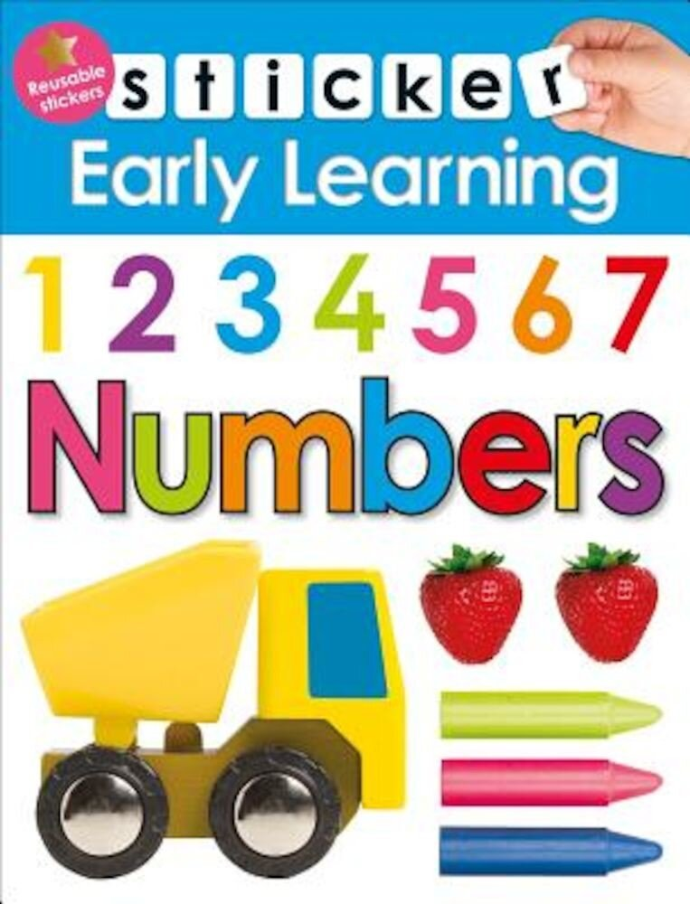 Sticker Early Learning: Numbers, Paperback