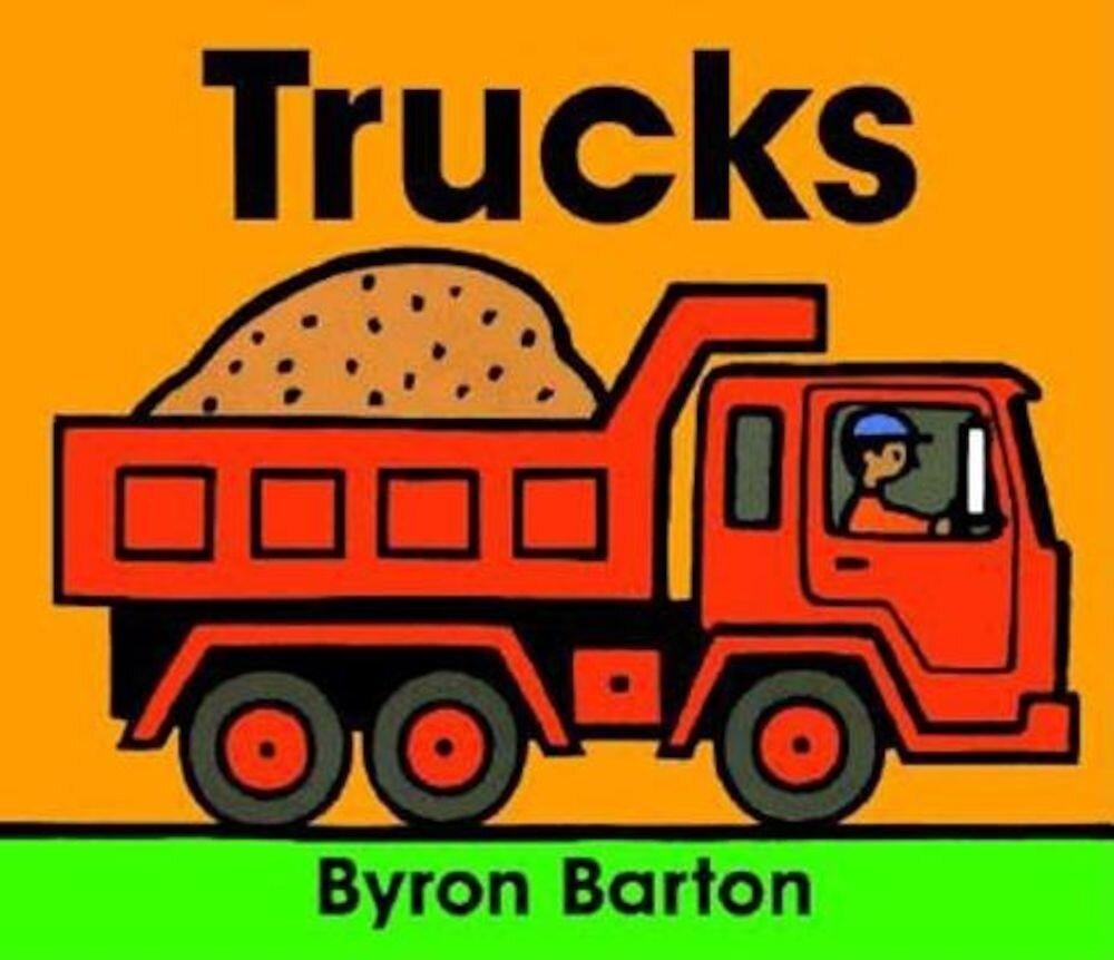Trucks Board Book, Hardcover