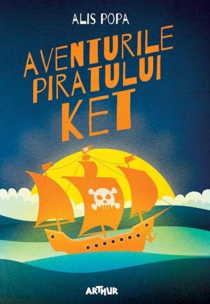 Coperta Carte Aventurile piratului Ket