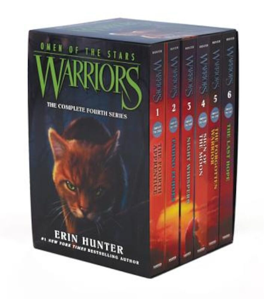 Warriors: Omen of the Stars Box Set: Volumes 1 to 6, Paperback