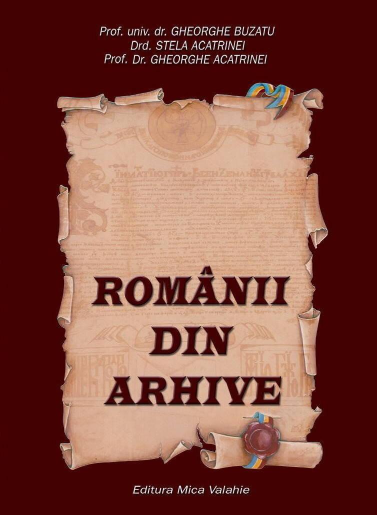 Romanii din arhive (eBook)