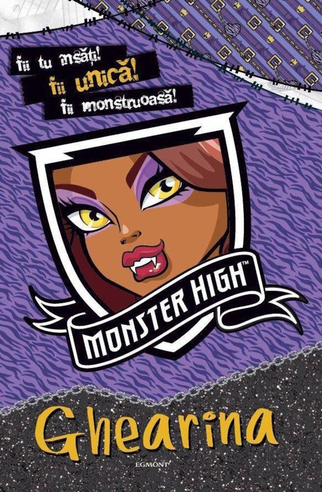 Coperta Carte Monster High - Ghearina