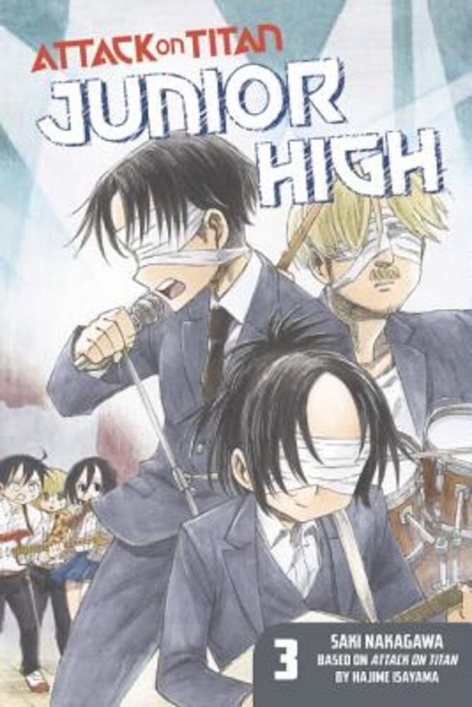 Attack on Titan: Junior High 3, Paperback