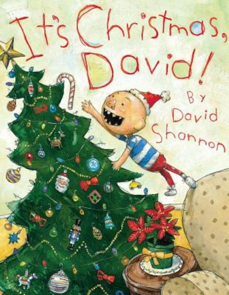 It's Christmas, David!, Hardcover