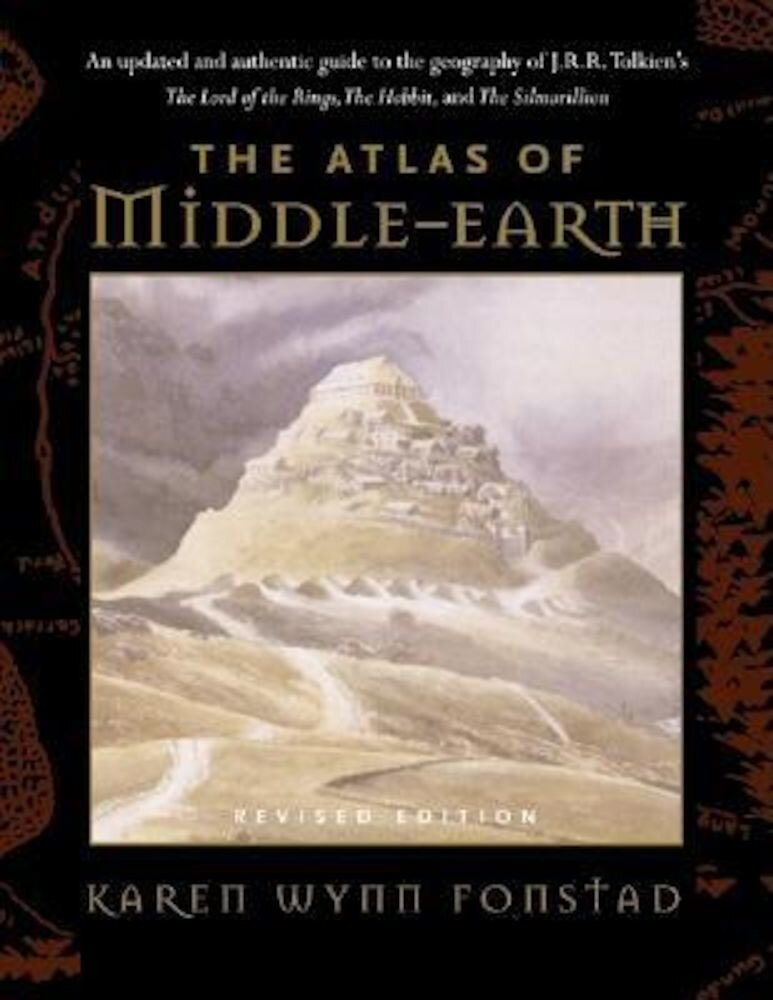 The Atlas of Middle-Earth, Paperback