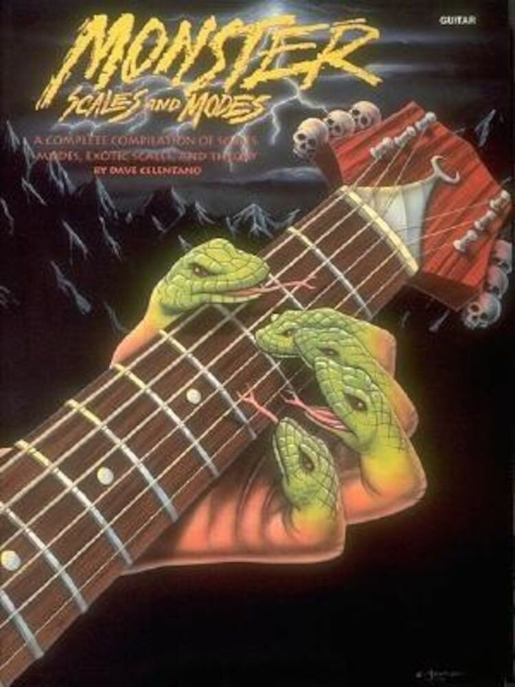 Monster Scales and Modes: By Dave Celentano, Paperback